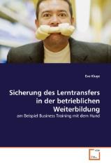 Fachbuch zum Lerntransfer